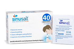 SinuSalt 40 Sachets Pack